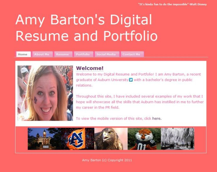 2011 digital resumes and portfolios 171 prprospects