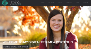 Fall 2014 PR Digital Resumes and Portfolios