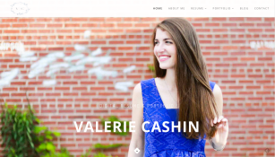 Spring 2015 PR Student Digital Resume Screen Captures